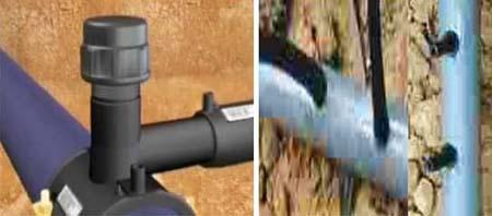 Co nối từ ống dẫn chính sang ống dẫn phụ và nối từ ống 25 mm sang ống 5 mm