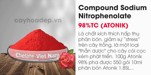 Bán Compound Sodium Nitrophenolate 98%TC (ATONIK)