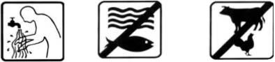 Rửa tay sạch Thuốc độc với cá Thuốc độc với gia súc