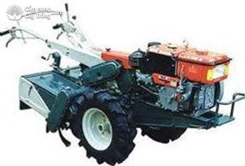 Máy cày loại nhỏ dùng để làm đứt rễ vải bằng cày hoặc phay đất